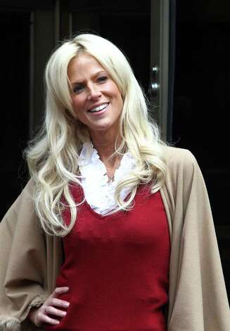 "FILE - Michaele Salahi is seen in mid-town of New York City in this Oct. 18, 2010 file photo. The husband of ""Real Housewives of D.C."" cast member Michaele Salahi reported to police that he believed his wife had been abducted, but investigators said Wednesday Sept. 14, 2011 she assured them she was with a friend and ""where she wanted to be."" Photo: AP"