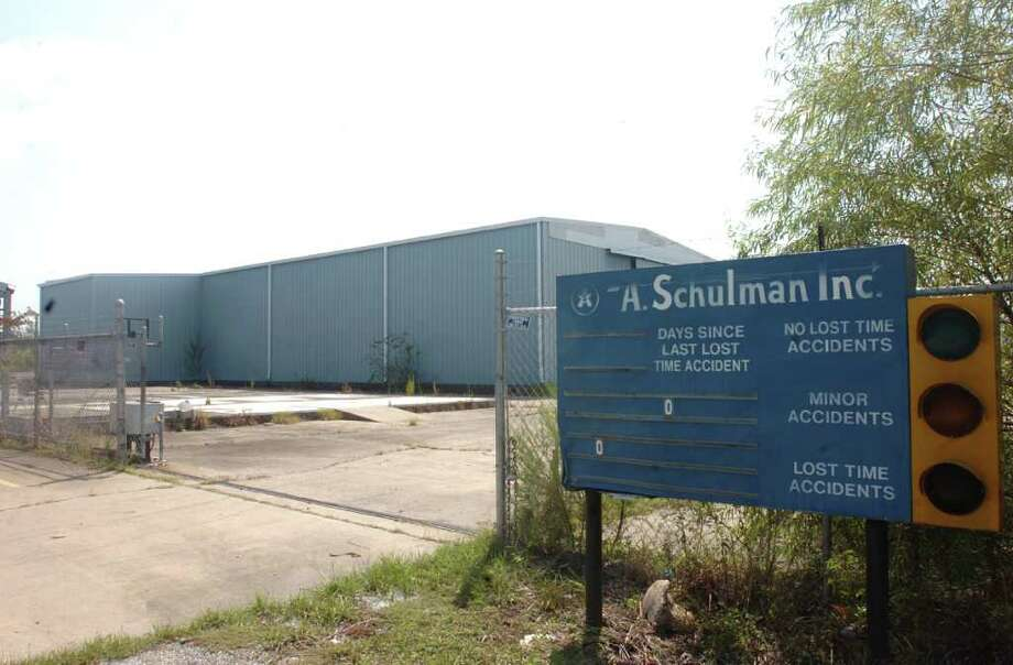 A Houston-based startup company will build a chemical blending operation on the site of the former A. Schulman plastics resin plant in Orange, which shut down in 2003. Photo: Pete Churton