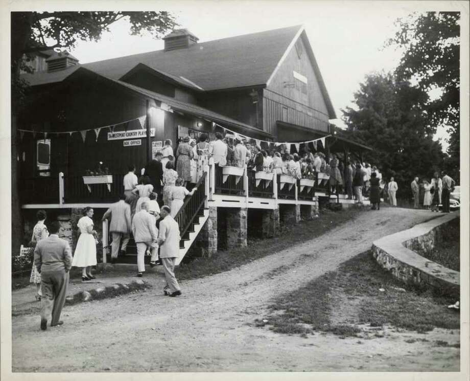 """Westport Country Playouse, seen in a photograph from the 1950s, will be one of three area theaters highlighted in the upcoming """"Bravo!"""" exhibit. Photo: Contributed Photo/Wells Studio"""