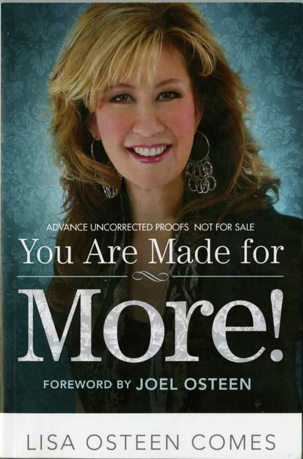 You are made for more by Joel Osteen Photo: You Are Made For More By Joel Os