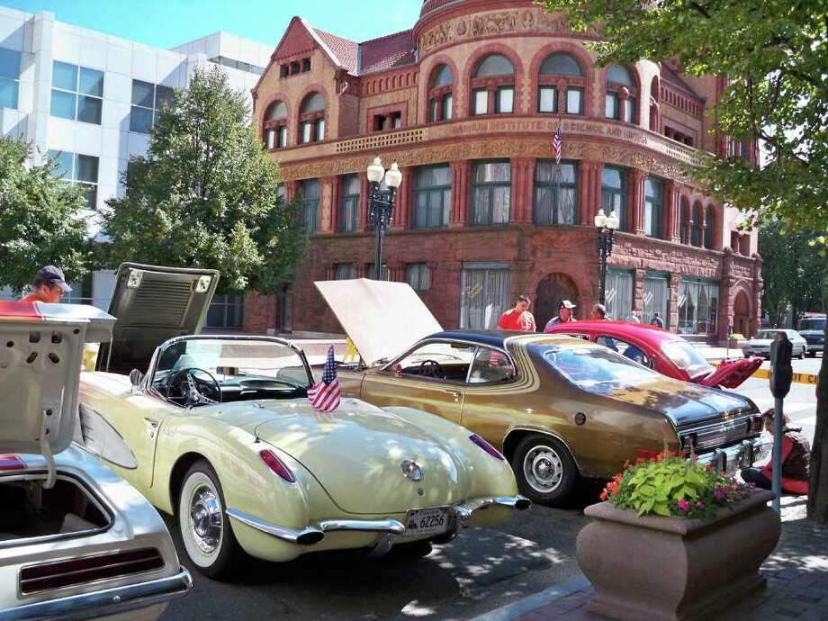 The 3rd annual Antique and Classic Car Show takes place Sept. 24 in downtown Bridgeport. Photo: Contributed Photo