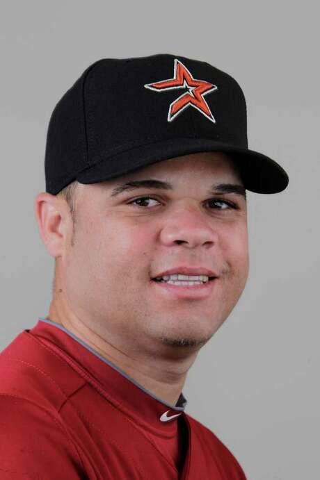 Houston Astros LHP Wandy Rodriguez (51) during photo day at the Houston Astros facility during full squad spring training workouts, Thursday, Feb. 24, 2011, in Kissimmee. ( Karen Warren / Houston Chronicle ) Photo: Karen Warren / Houston Chronicle