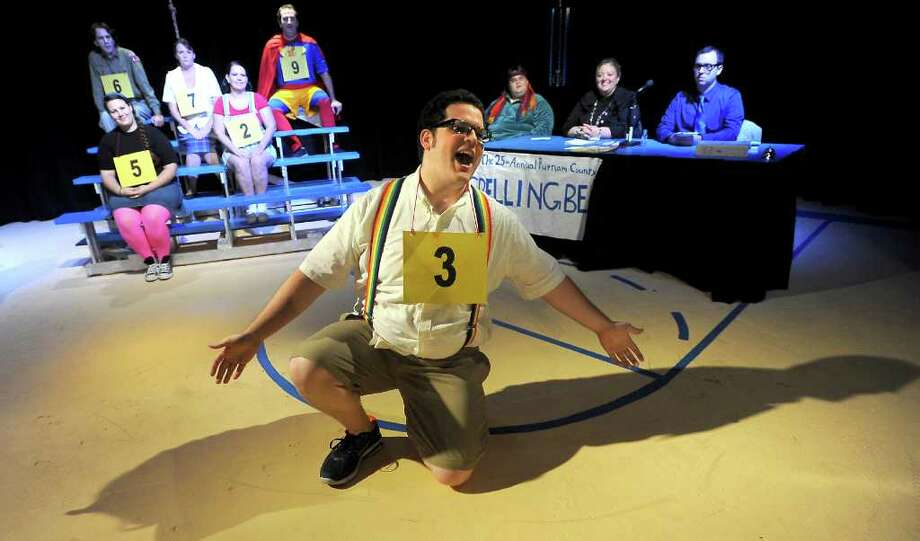 "Cody Underwood rehearses for ""The 25th Annual Putnam County Spelling Bee"" at the Port Arthur Little Theater in Port Arthur. Photo: TAMMY MCKINLEY"