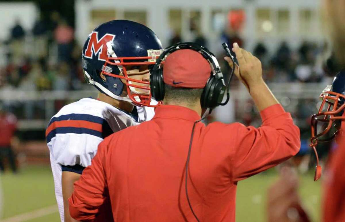 Highlights of the Fairfield Warde vs. Brien McMahon football game at Fairfield Warde High School on Friday, Sept. 16, 2011.