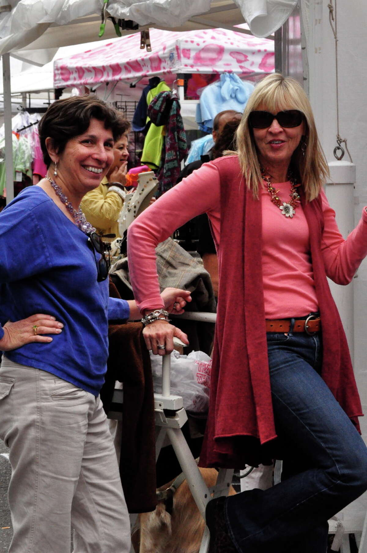 Were you SEEN at the DSSD's Arts & Crafts on Bedford street fair in downtown Stamford this weekend?