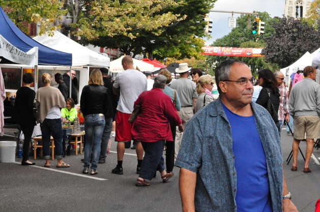 Arts Festival, Stamford, 17/9/2011 Photo: Tebben Gill Lopez / Hearst Connecticut Media Group