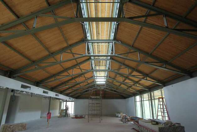This is the third floor of the new addition to the old Hertzberg Circus Museum on Market street in downtown San Antonio. The entire building will become The Briscoe Western Art Museum. Photo: JOHN DAVENPORT/jdavenport@express-news.net