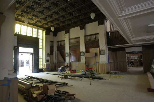 This is the interior of the main entry way of what will soon be The Briscoe Western Art Museum. The building was formerly the Hertzberg Circus Museum. Photo: JOHN DAVENPORT, JOHN DAVENPORT/jdavenport@express-news.net / SAN ANTONIO EXPRESS-NEWS (Photo can be sold to the public)