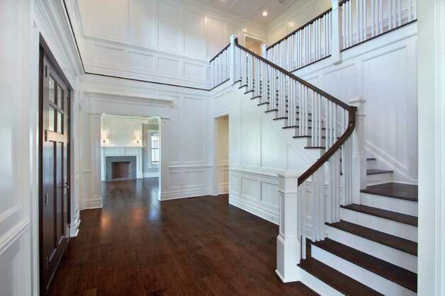 Two Story Foyer Wainscoting : Hanging a chandelier in two story foyer online