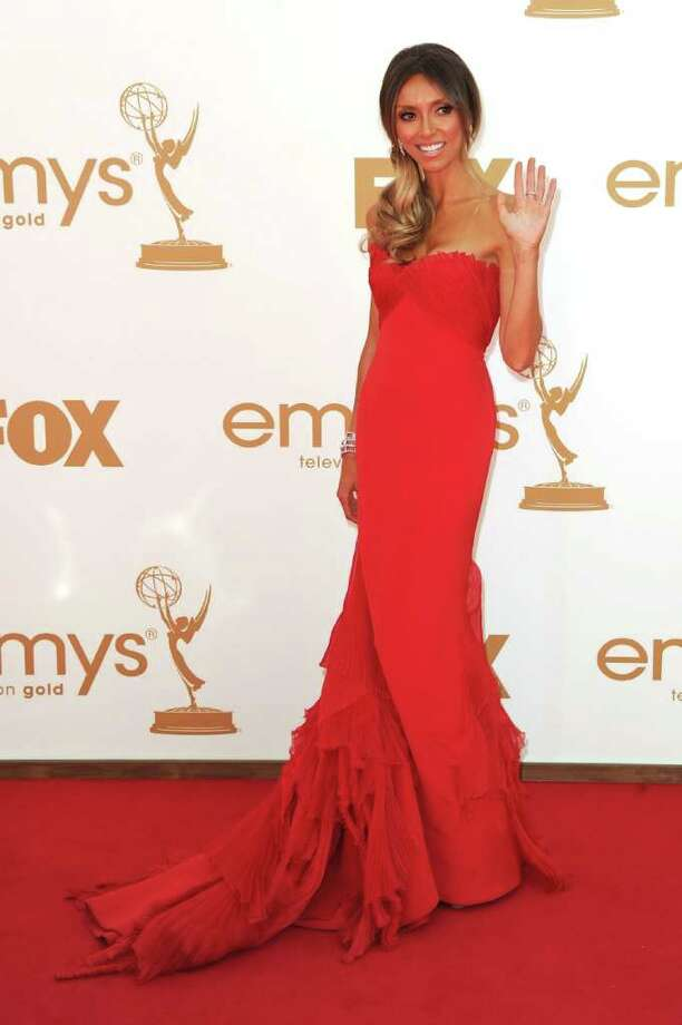 LOS ANGELES, CA - SEPTEMBER 18:  TV personality Giuliana Rancic arrives at the 63rd Annual Primetime Emmy Awards held at Nokia Theatre L.A. LIVE on September 18, 2011 in Los Angeles, California. Photo: Kevin Winter, Getty Images / 2011 Getty Images