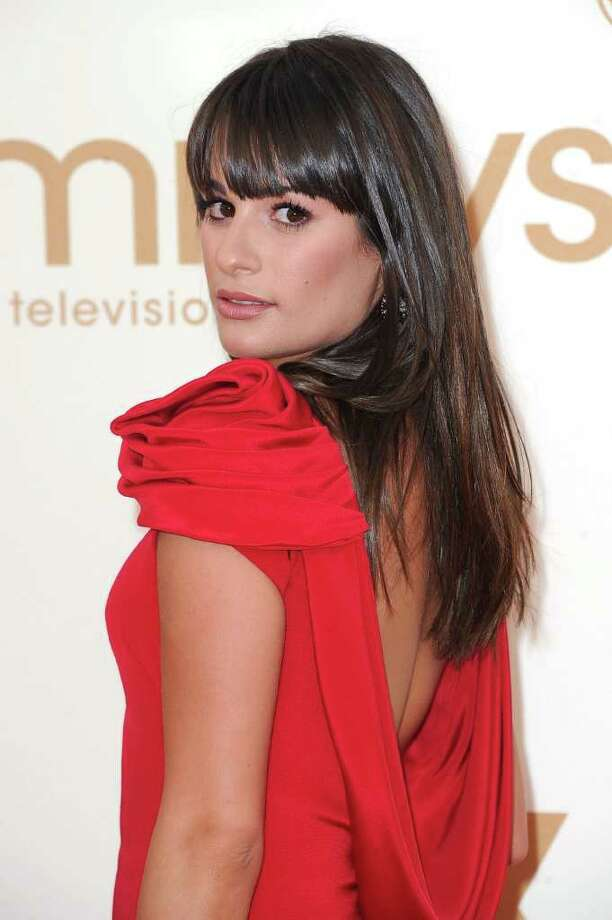 LOS ANGELES, CA - SEPTEMBER 18:  Actress Lea Michele arrives at the 63rd Annual Primetime Emmy Awards held at Nokia Theatre L.A. LIVE on September 18, 2011 in Los Angeles, California. Photo: Frazer Harrison, Getty Images / 2011 Getty Images