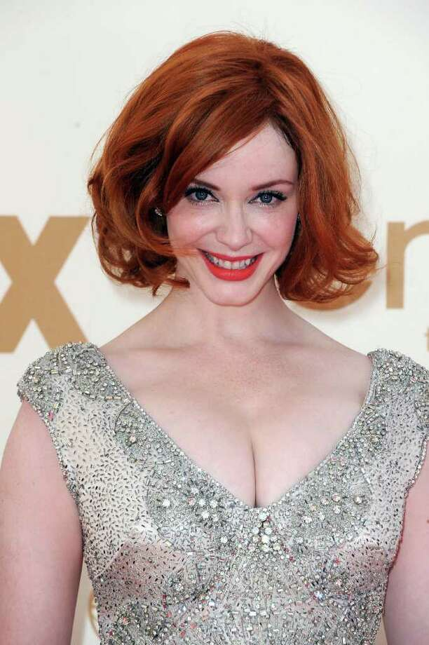 LOS ANGELES, CA - SEPTEMBER 18:  Actress Christina Hendricks arrives at the 63rd Annual Primetime Emmy Awards held at Nokia Theatre L.A. LIVE on September 18, 2011 in Los Angeles, California. Photo: Frazer Harrison, Getty Images / 2011 Getty Images
