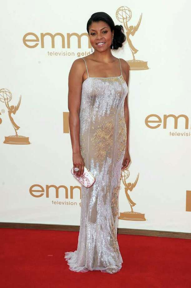 LOS ANGELES, CA - SEPTEMBER 18:  Actress Taraji P. Henson arrives at the 63rd Annual Primetime Emmy Awards held at Nokia Theatre L.A. LIVE on September 18, 2011 in Los Angeles, California. Photo: Frazer Harrison, Getty Images / 2011 Getty Images