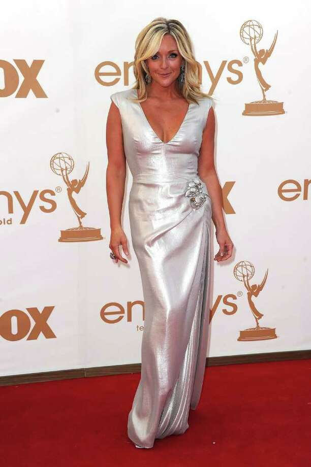 LOS ANGELES, CA - SEPTEMBER 18:  Actress Jane Krakowski arrives at the 63rd Annual Primetime Emmy Awards held at Nokia Theatre L.A. LIVE on September 18, 2011 in Los Angeles, California. Photo: Frazer Harrison, Getty Images / 2011 Getty Images