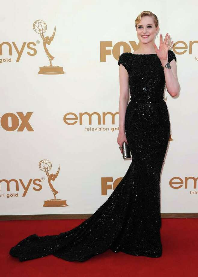 LOS ANGELES, CA - SEPTEMBER 18:  Actress Evan Rachel Wood arrives at the 63rd Annual Primetime Emmy Awards held at Nokia Theatre L.A. LIVE on September 18, 2011 in Los Angeles, California. Photo: Frazer Harrison, Getty Images / 2011 Getty Images