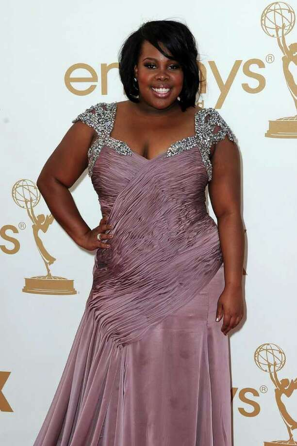 LOS ANGELES, CA - SEPTEMBER 18:  Actress Amber Riley arrives at the 63rd Annual Primetime Emmy Awards held at Nokia Theatre L.A. LIVE on September 18, 2011 in Los Angeles, California. Photo: Frazer Harrison, Getty Images / 2011 Getty Images