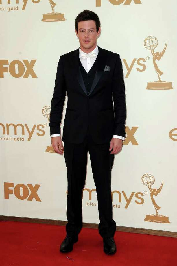 LOS ANGELES, CA - SEPTEMBER 18:  Actor Cory Monteith arrives at the 63rd Annual Primetime Emmy Awards held at Nokia Theatre L.A. LIVE on September 18, 2011 in Los Angeles, California. Photo: Frazer Harrison, Getty Images / 2011 Getty Images