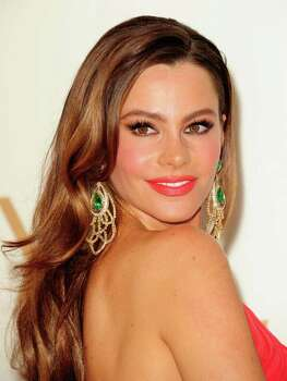 Actress Sofia Vergara arrives at the 63rd annual Primetime Emmy Awards at the Nokia Theatre at LA Live in downtown Los Angeles September 18, 2011.   AFP PHOTO / ROBYN BECK Photo: ROBYN BECK, Getty / AFP