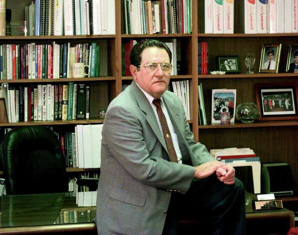 "José A. Cárdenas wrote several books on education, including ""Texas School Finance Reform — An IDRA Perspective"" and ""My Spanish-Speaking Left Foot,"" and was IDRA's director emeritus at the time of his death. Photo: Express-News File Photo"