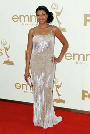 Taraji P. Henson arrives at the 63rd Primetime Emmy Awards on Sunday, Sept. 18, 2011 in Los Angeles. Photo: AP