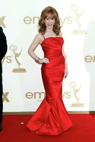 Kathy Griffin arrives at the 63rd Primetime Emmy Awards on Sunday, Sept. 18, 2011 in Los Angeles. Photo: AP