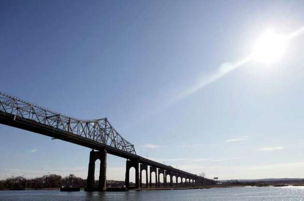 The Goethals Bridge is seen from Elizabeth, N.J., Tuesday, March 1, 2011. Photo: Seth Wenig, AP / AP