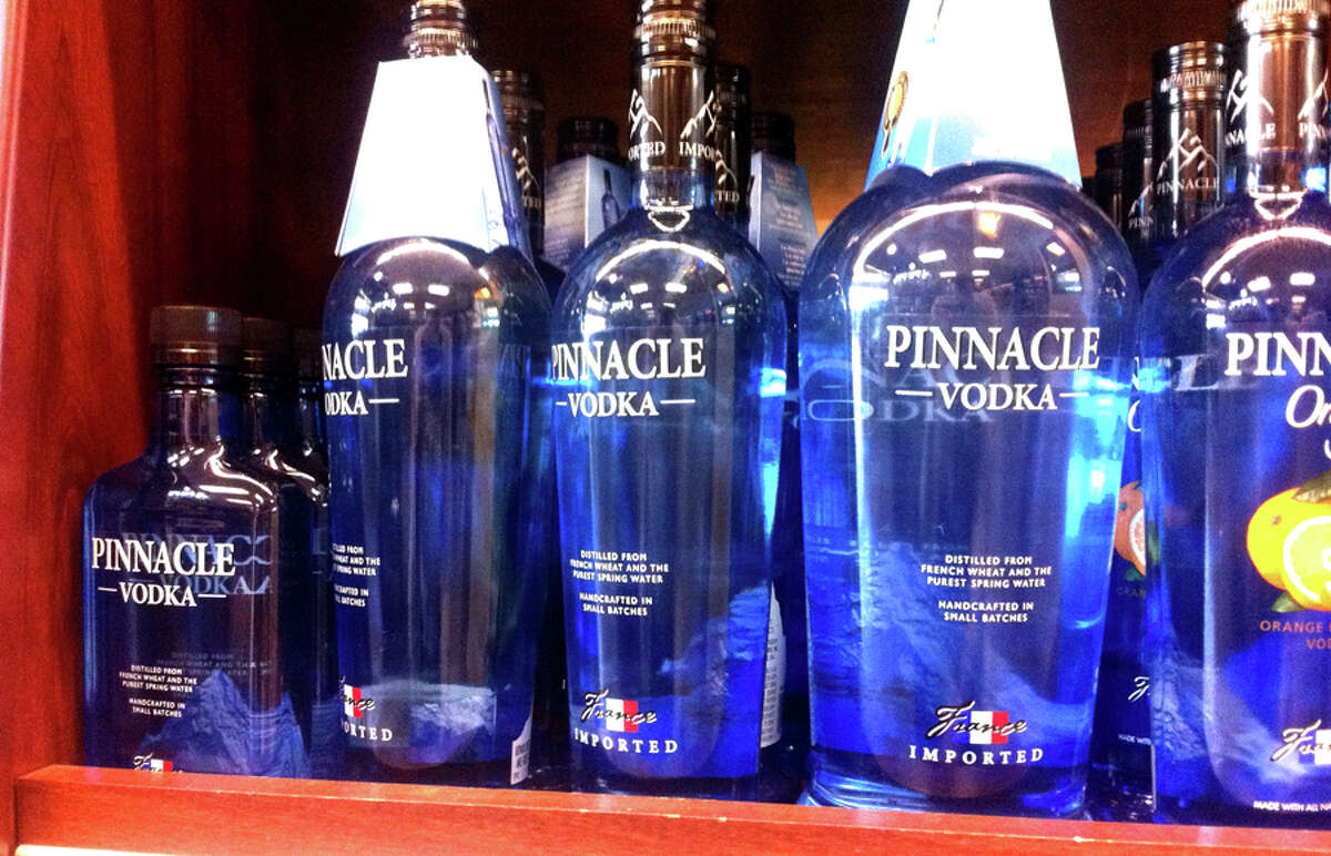Pinnacle Vodka, imported from France, has jumped up the list of best-selling Seattle liquors. It didn't make the top 10 list last year, but through September of 2011 had already has sold more than 5,855 cases, putting making it the second bestseller. The company's flavored vodkas have also had exceptional sales numbers recently.