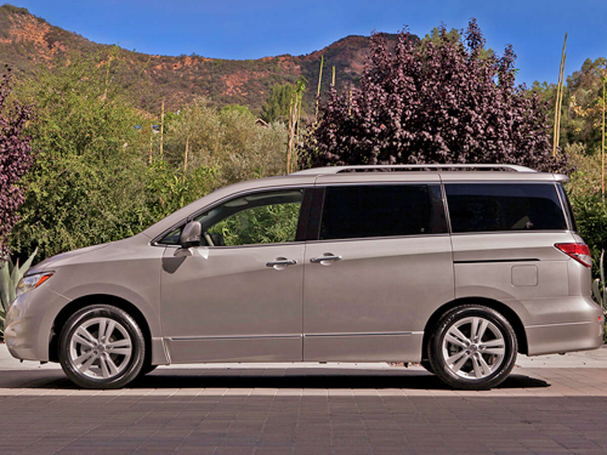 10. Nissan Quest Average percentage below market value: 12% Average savings: $1,810 Average price: $13,874