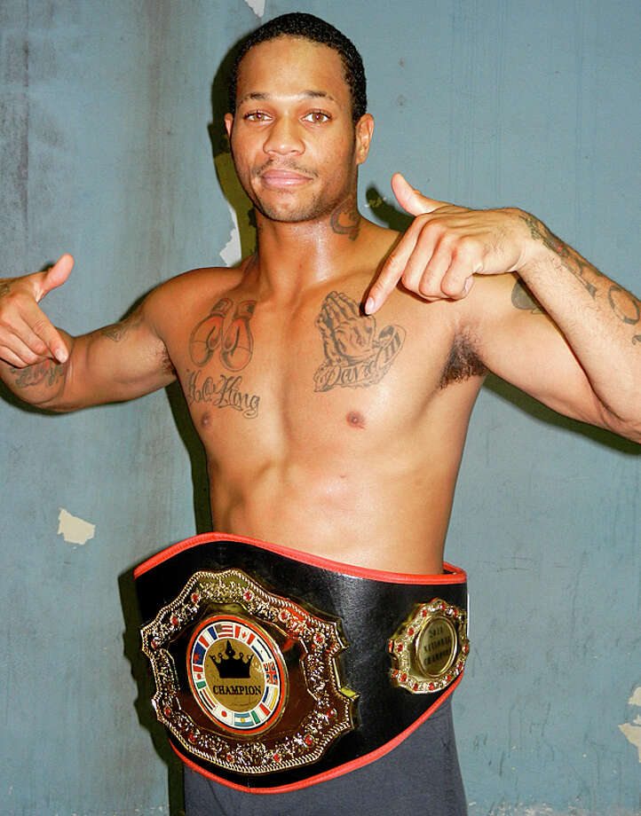 David Thomas is a boxer from Orange, Texas Photo: Courtesy Photo