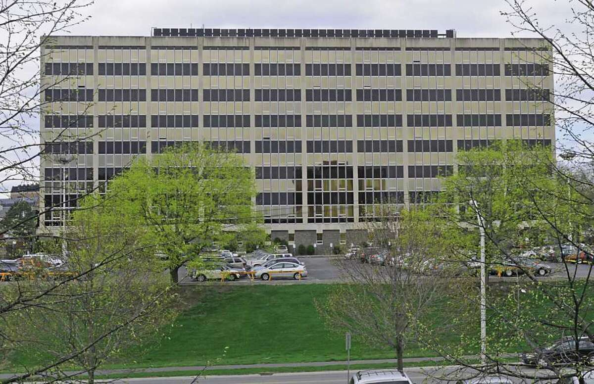 New York State Office for People with Developmental Disabilities at 44 Holland Ave. in Albany, NY on April 9, 2010. (Lori Van Buren / Times Union)