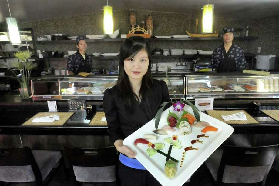Sushi and other traditional Japanese entrees29 E Pembroke Rd, DanburyCôte d'Ivoire vs. Japan: June 14 Photo: Michael Duffy / The News-Times