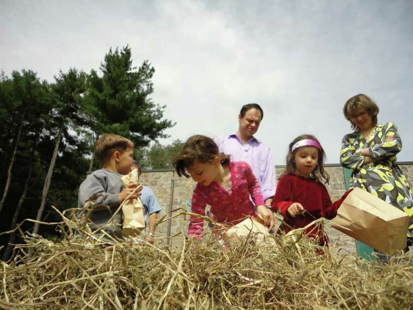 Connecticut's endangered words and phrases Heap:A haystack, especially a small or loose one; a sheaf; a bundle or pile of sheaves (also hay heap).