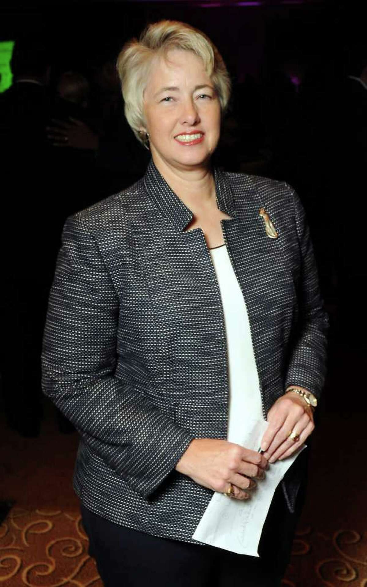 Guest of honor mayor Annise Parker