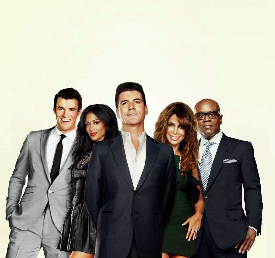 Host Steve Jones (from left), Nicole Scherzinger, Simon Cowell, Paula Abdul and L.A. Reid are part of Fox's new reality competition. FOX Photo: Fox