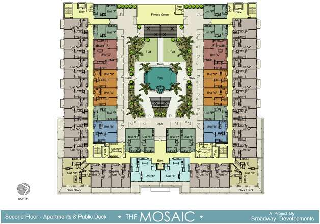 A rendering of The Mosaic. Photo: COURTESY PHOTO
