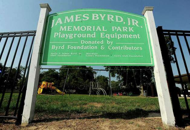 A Jasper park was named after James Byrd Jr. following his 1998 murder. Guiseppe Barranco/The Enterprise