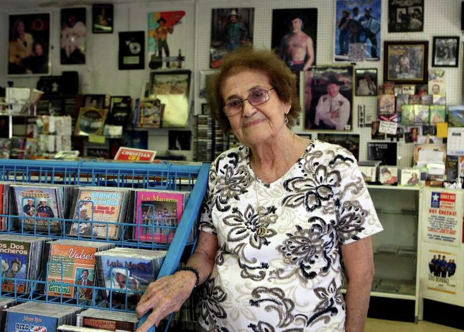 Janie Esparza has owned Janie's Records for 26 years and is an encyclopedia of knowledge about Tejano and Conjunto music. Photo: HELEN L. MONTOYA, HELEN L. MONTOYA/hmontoya@conexionsa.com / SAN ANTONIO EXPRESS-NEWS