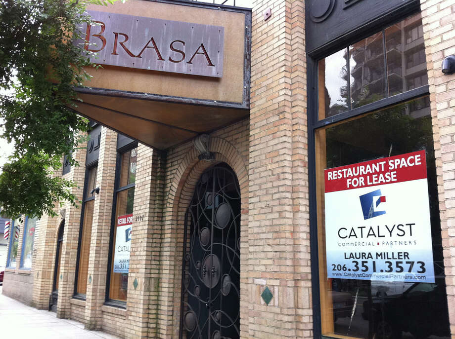 After more than a decade, Belltowners bid farewell last year to Brasa, known for its Mediterranean cuisine and beautiful iron doors. (seattlepi.com photo).