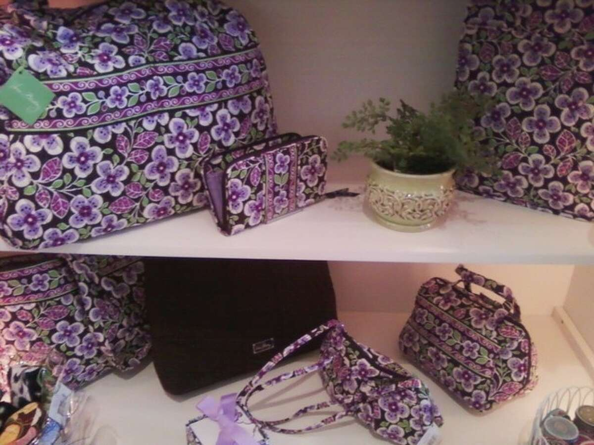 The Vera Bradley collection includes totes, luggage and all manner of accessories.