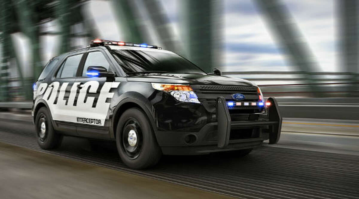 Ford's police sport-utility vehicle.