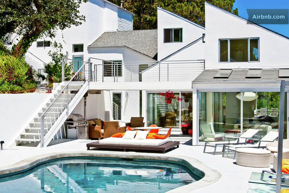 Want to stay closer to home, and warmer? Here's a modern 6,000-square-foot spread on