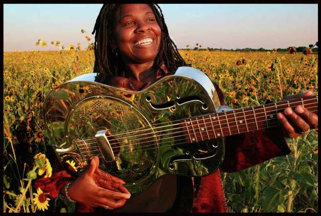 Blues singer and guitarist Ruthie Foster takes the stage Thursday night at Sam's. RUTHIEFOSTER.COM