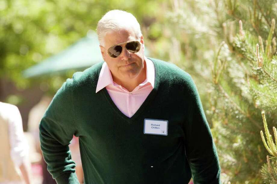 Darien resident and CEO of Chilton Investment Co., Richard Chilton is worth $1.1 billion. He is the 390th richest man in America and the 1075th richest man in the world. Photo: File Photo, ST / Greenwich Time File Photo