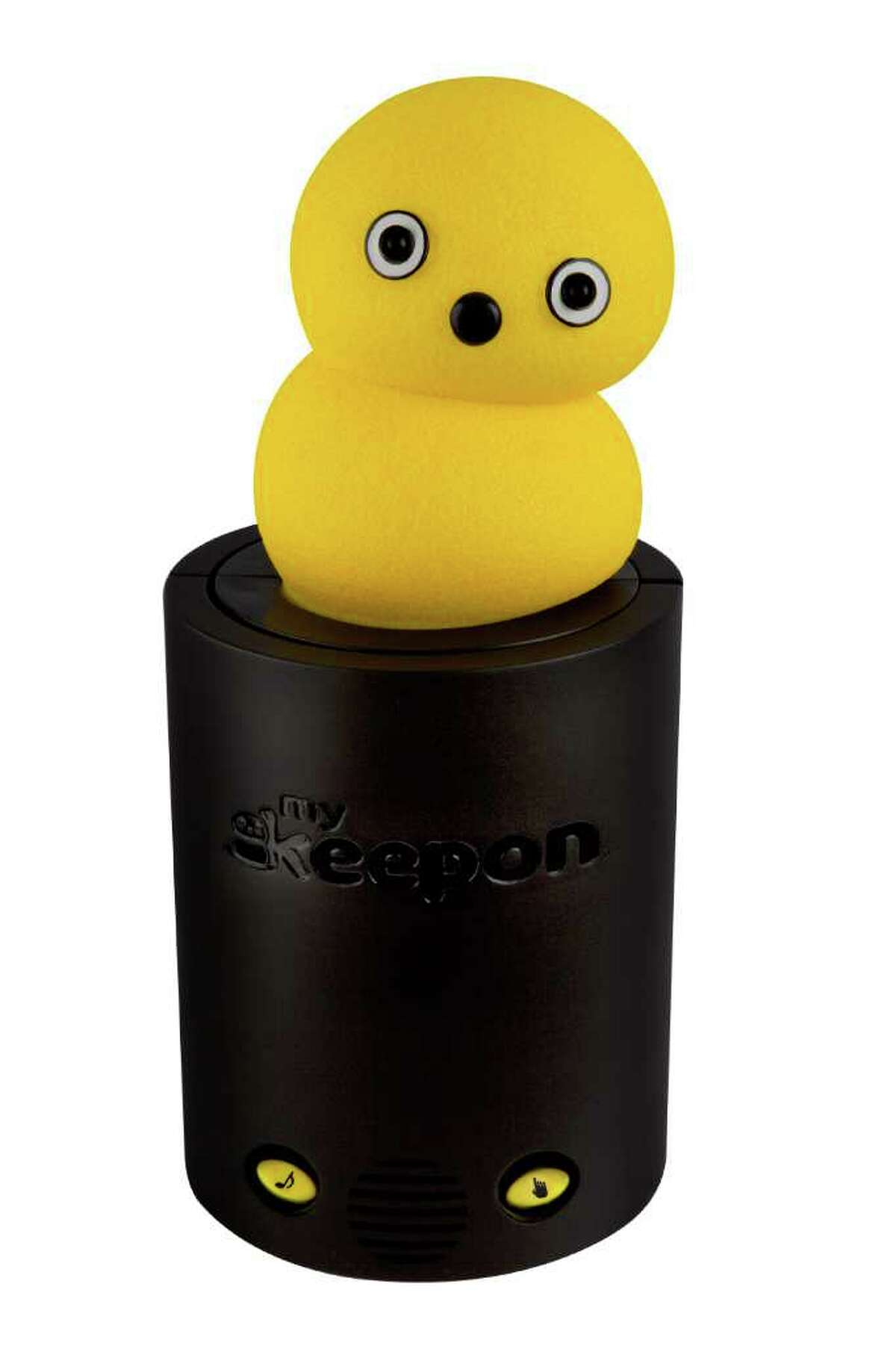 My Keepon: With yellow, textured skin, this lovable robotic toy is insatiably curious, craves attention, reacts to touch, and has the amazing ability to listen to music, detect the beat and dance in perfect rhythm. This Toys