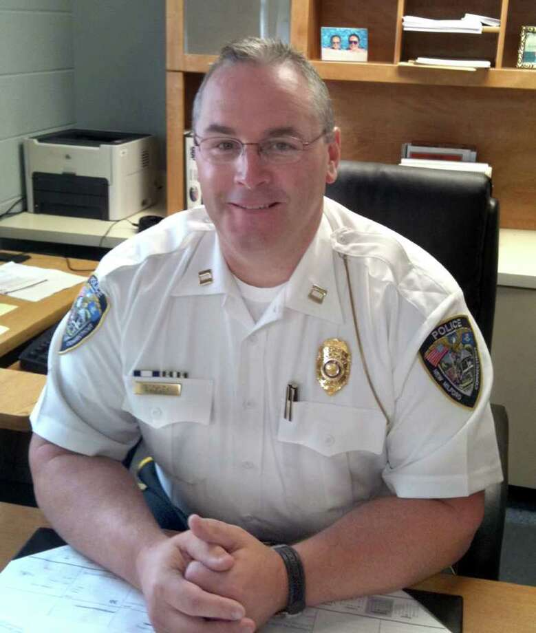 Capt. Mark Buckley will be promoted to deputy chief on the New Milford Police Department on September 29, 2011. Photo: Nanci Hutson