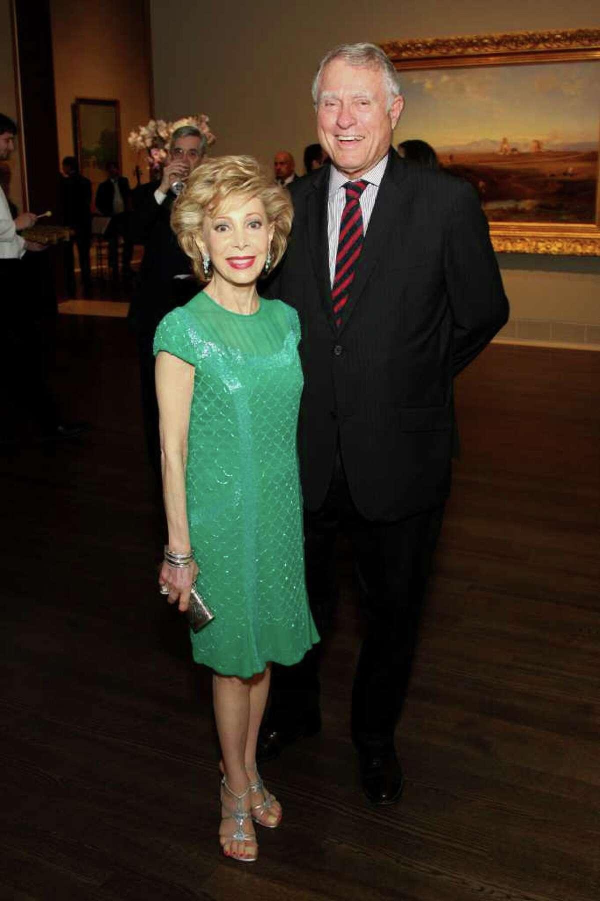 Margaret Alkek Williams and Jim Daniel