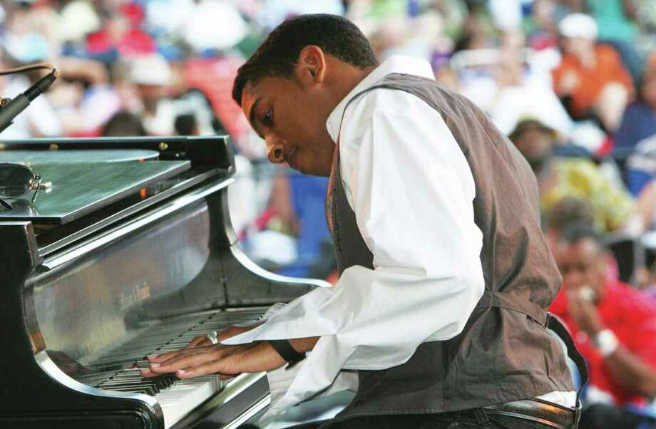 The Westport Arts Center will present jazz pianist Christian Sands Oct. 2 at Pequot Library in Southport. Photo: Contributed Photo