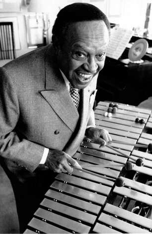 ** FILE ** Jazz musician Lionel Hampton poses in New York City Apartment in this April 25, 1988 file photo. Hampton, the vibraphone virtuoso and standout showman whose six-decade career ranked him with the greatest names in jazz history, died Saturday at a Manhattan hospital. He was 94, his manager, Phil Leshin said. Photo: MARTY REICHENTHAL, AP / AP