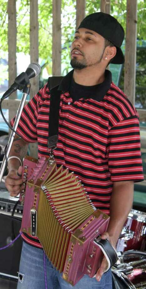 Cedryl Ballou & the Zydeco Trendsetters are among the Cajun Festival's entertainers. JIME BEAL JR. / EXPRESS-NEWS
