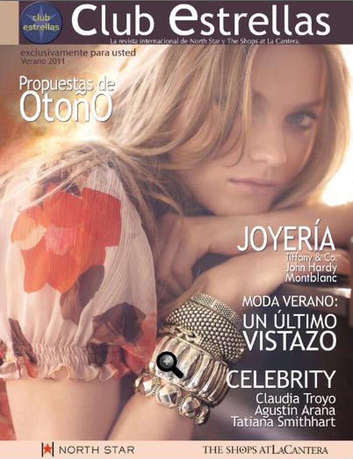 Cover of Club Estrellas e-magazine. Photo: COURTESY IMAGE